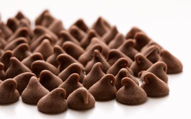 Απομίμηση σοκολάτα σε Σταγόνες